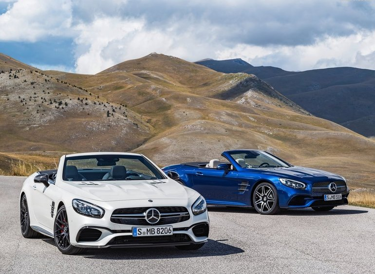 Two New Mercedes Benz Models Unveiled In Los Angeles