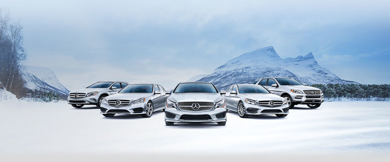 Mercedes-Benz Winter Driving Academy : fun in the snow