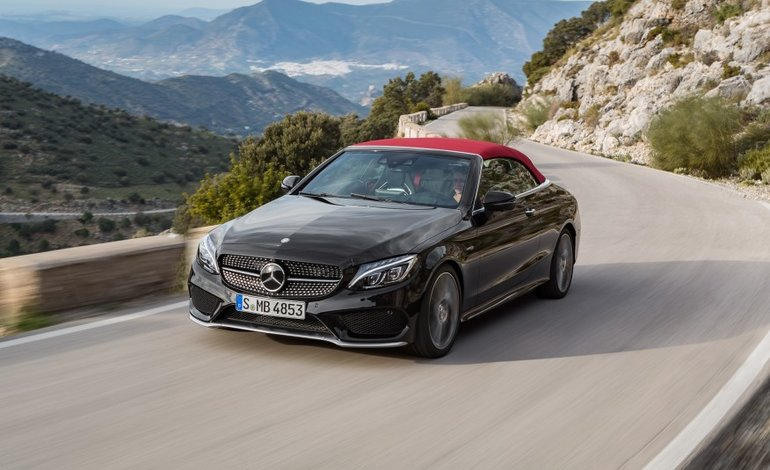 2017 Mercedes-Benz C-Class Cabriolet: the First of its Kind