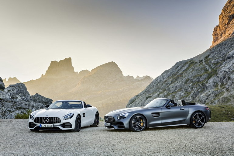 Mercedes-AMG unveils new GT Roadster