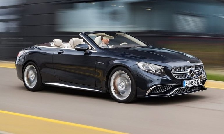 2017 Mercedes-Benz S-Class Cabriolet: the ultimate in luxury
