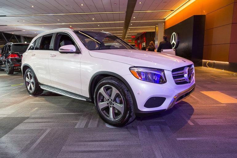 Ottawa Auto Show 2017: 2017 Mercedes-Benz GLC