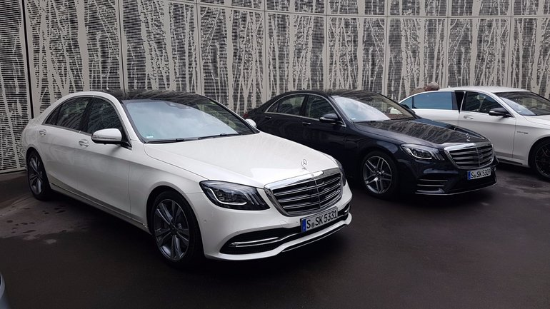 Five incredible technologies from the new 2018 Mercedes-Benz S-Class