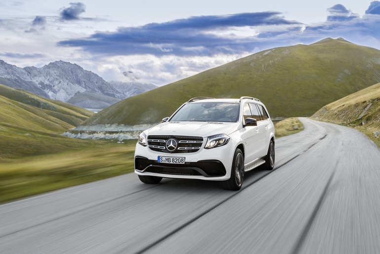 2018 Mercedes-Benz GLS: the ultimate luxury SUV