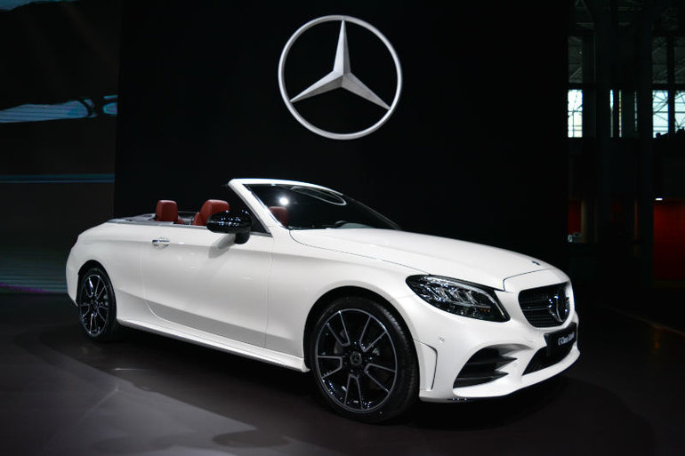 Superior Mercedes Benz Showcases New 2019 C Class Coupe And Convertible In New York