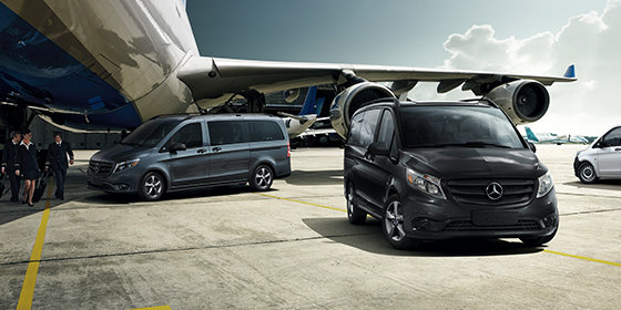 Three elements that stand out in Mercedes-Benz vans