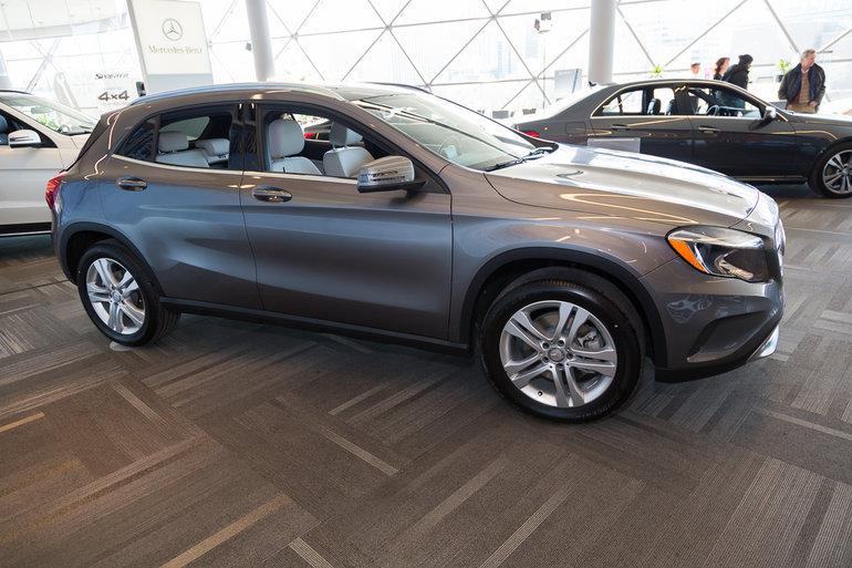 Ottawa Auto Show: 2015 Mercedes-Benz GLA-Class