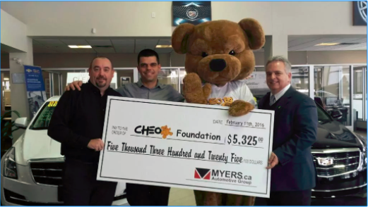 Supporting the CHEO Foundation