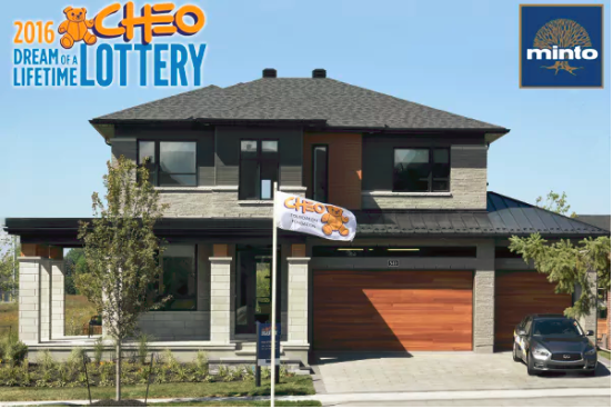 The 2016 CHEO Dream of a Lifetime Lottery