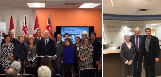 The Myers Automotive Acute Care of the Elderly (ACE) Unit Opens at Queensway Carleton Hospital
