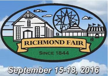 Join Us At The Annual Richmond Fair!
