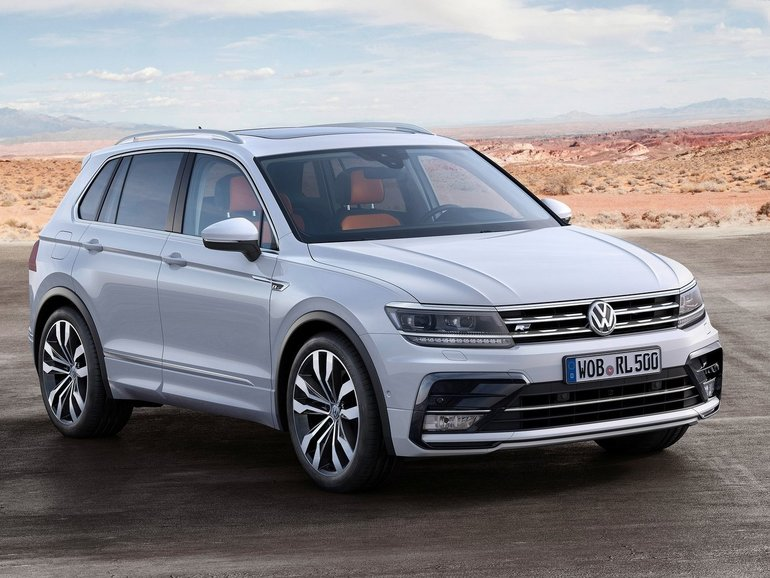 Experience the Advantages of the New Volkswagen Tiguan