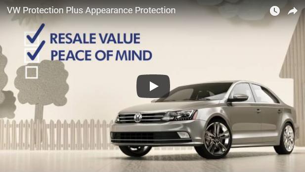 Volkswagen Protection Plus : protection esthétique