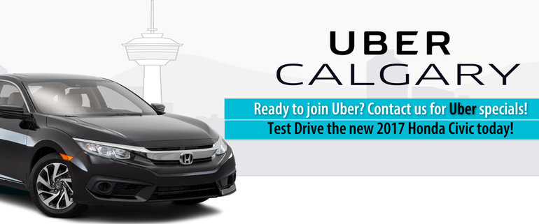 Get a New or Used Honda for Uber Calgary