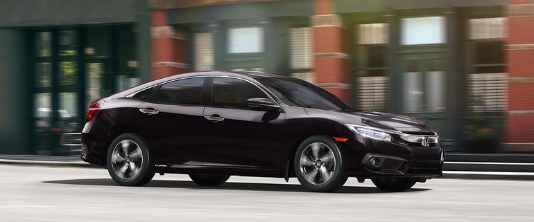 The Honda Civic is 2016 Canadian Car of the Year