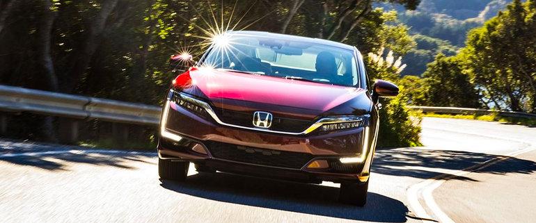 Honda Clarity Fuel-Cell Sedan Going on Sale in California Soon