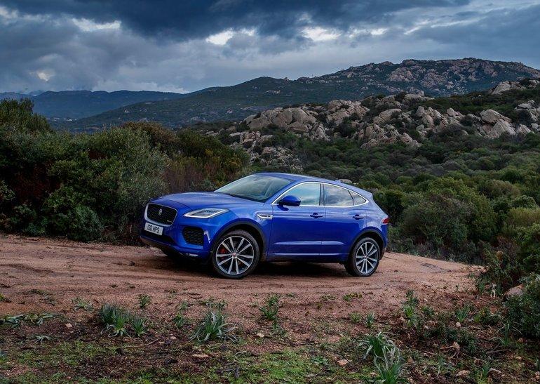 2018 Jaguar E-PACE: Entering a New Era