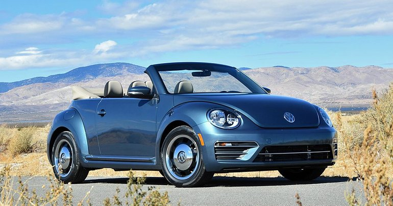 2017 Volkswagen Beetle Convertible: Topless for Less