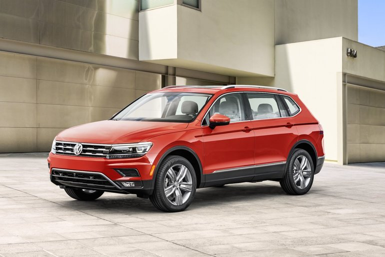 2018 Volkswagen Tiguan: Seven Passengers, Three Versions, One Engine