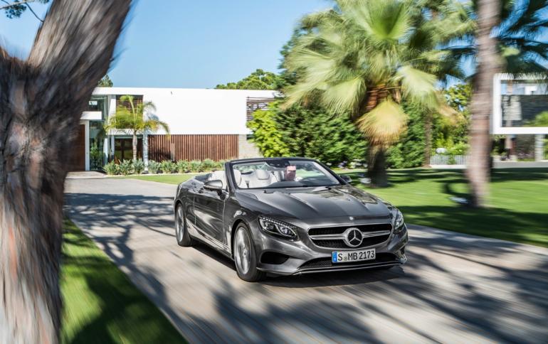 Avenir Mercedes-Benz S-Class Cabriolet présente à Francfort