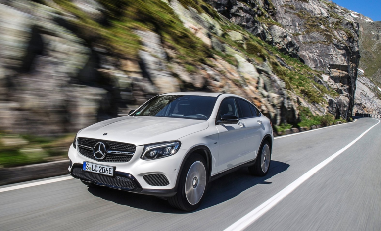 2017 Mercedes-Benz GLC Coupe Offers Range of Models