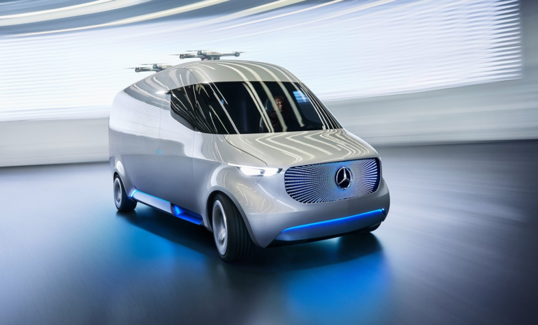 Mercedes-Benz Creates Concept IAA with Futuristic Components