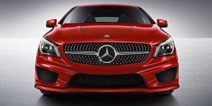 Premier coup d'oeil sur un prototype du CLA de Mercedes-Benz