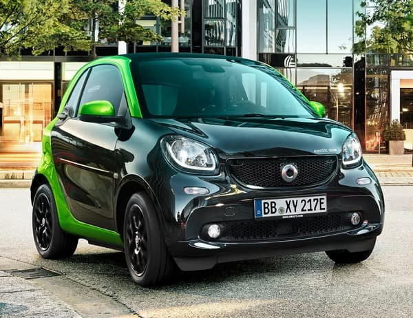 2019 smart fortwo: No compromise on safety.