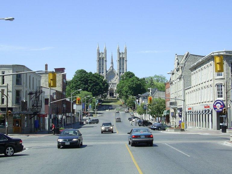 Visiting Guelph, Ontario