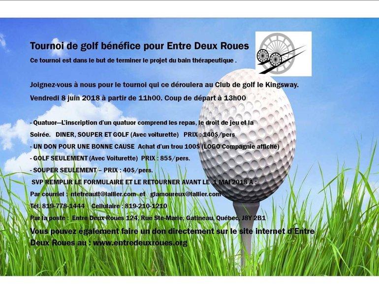 Entre Deux Roues- Golf Tournament