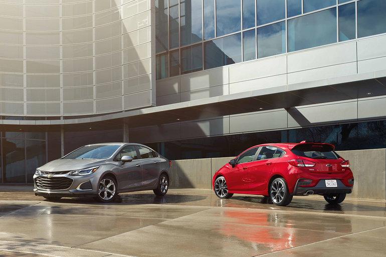 Chevrolet Cruze 2019 : une berline compacte à découvrir