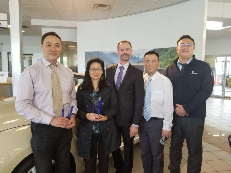 William Tam & Candice Cheuk : Sales Guild Award Winners