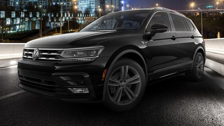 The 2018 Volkswagen Tiguan is a stand out when it comes to space