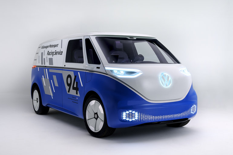 Volkswagen gets noticed in Los Angeles with the I.D. Buzz Cargo