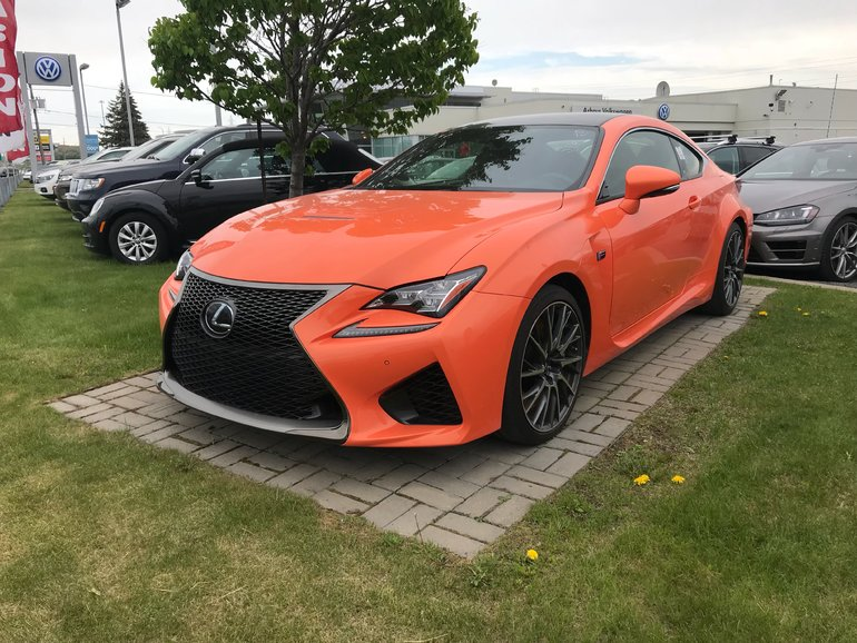 Lexus RC F Performance pack 2015