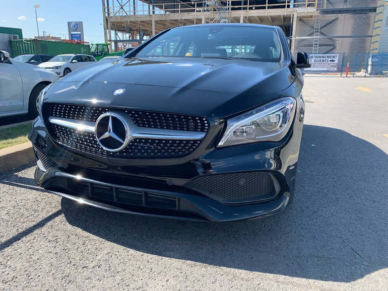Mercedes-Benz CLA CLA 250/4Matic/Cuir/GPS/Bluetooth/Push Start 2017