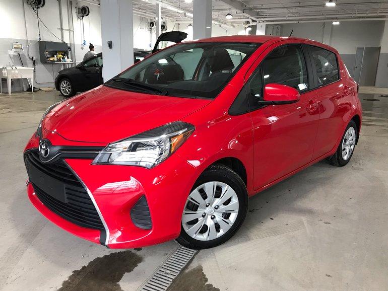 Toyota Yaris LE 1.5L Automatique 2015