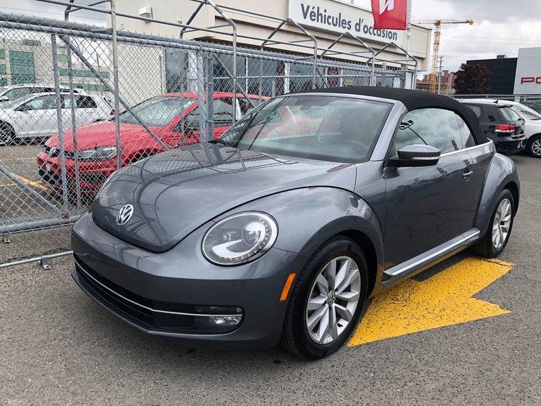 2015 Volkswagen Beetle Convertible Automatique 1.8T Comfortline