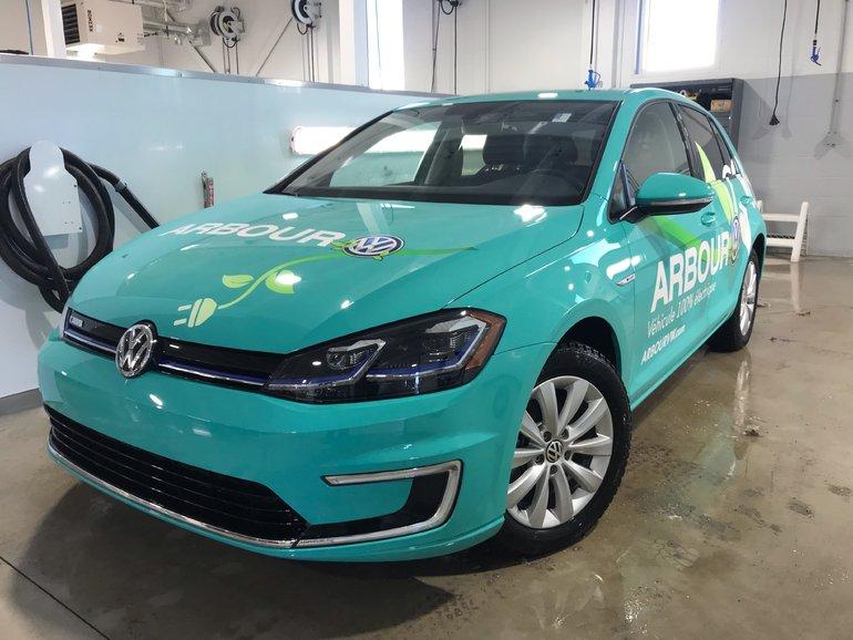 2019 Volkswagen E-Golf Comfortline Demo