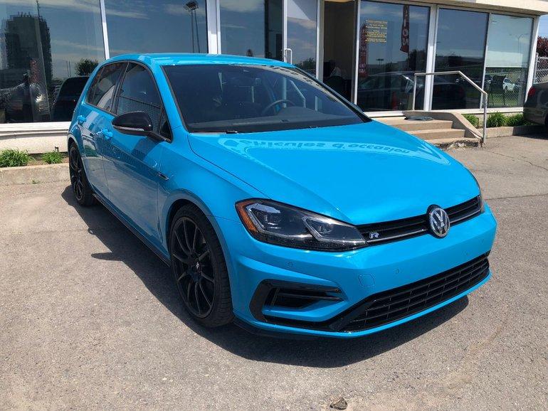 2018 Volkswagen Golf R Demo 91 Blue 2.0T 4Motion