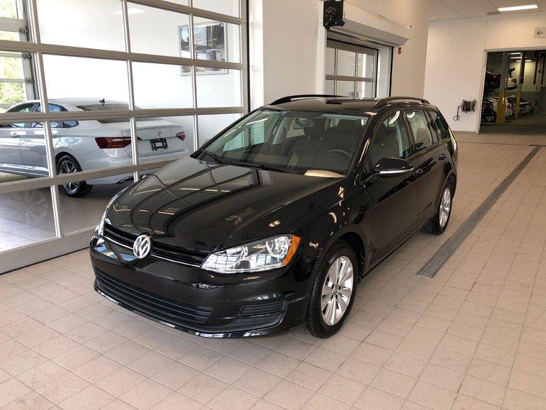 Volkswagen GOLF SPORTWAGEN Trendline MANUELLE, BAS KM, RARE!* 2017