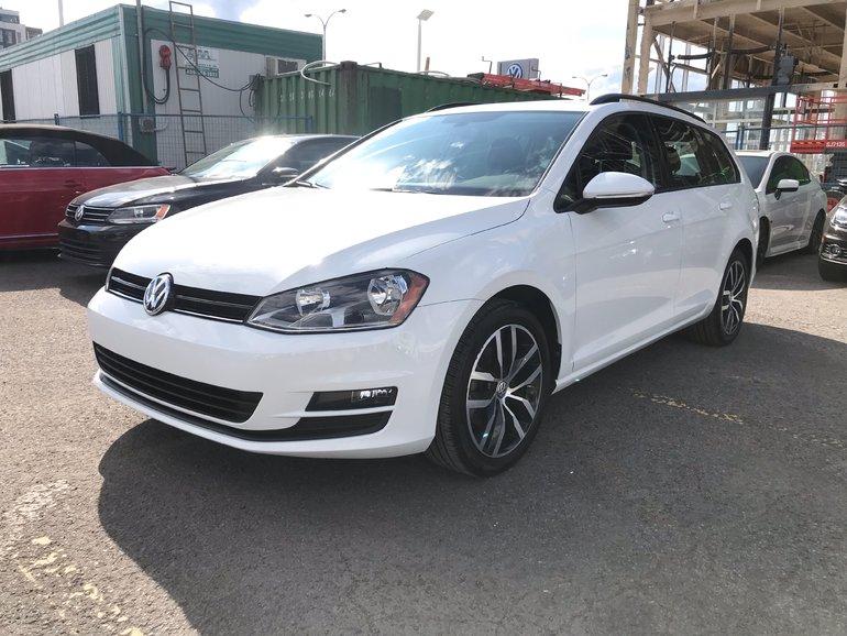 Volkswagen GOLF SPORTWAGEN 4Motion/Cuir/Toit/App-Connect/Kessy/Auto 2017
