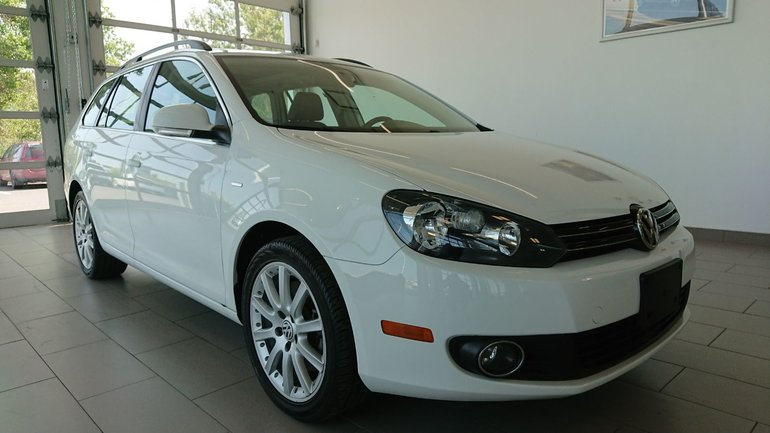 2014 Volkswagen Golf wagon TDI Wolfsburg Cuir Toit NAV *Promo 0% dispo*