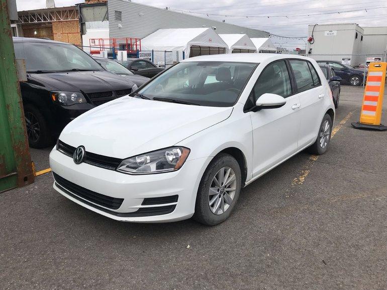 Volkswagen Golf Trendline 1.8T Automatique 2015