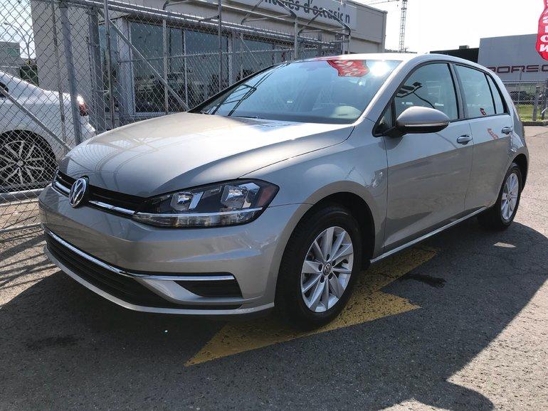 Volkswagen Golf Trendline Automatique 2018