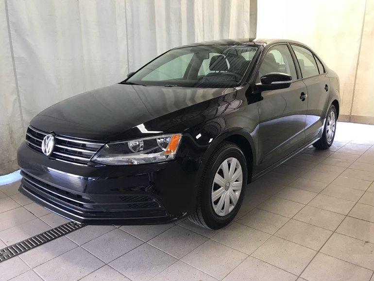 2015 Volkswagen Jetta Trendline Plus Manuelle 2.0L