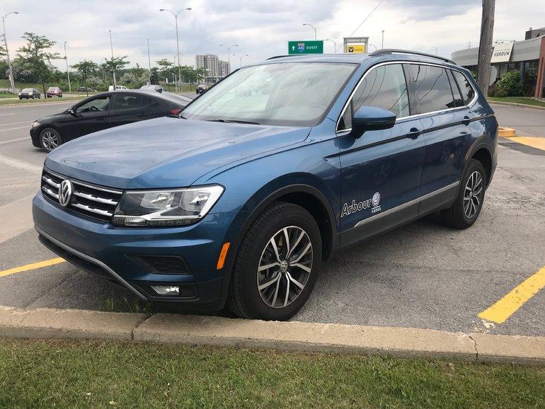 Volkswagen Tiguan Comfortline Demo 2018