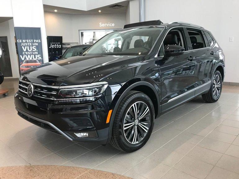 2018 Volkswagen Tiguan Highline 2.0T