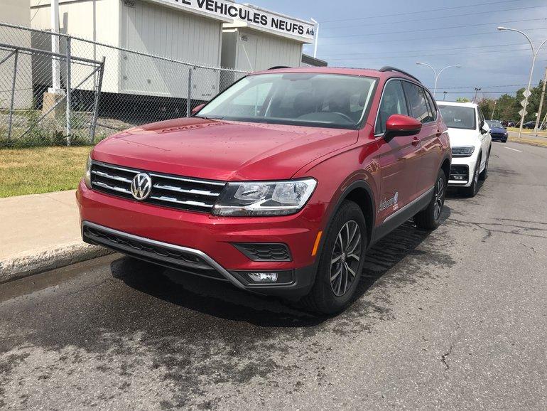 2019 Volkswagen Tiguan Comfortline Demo