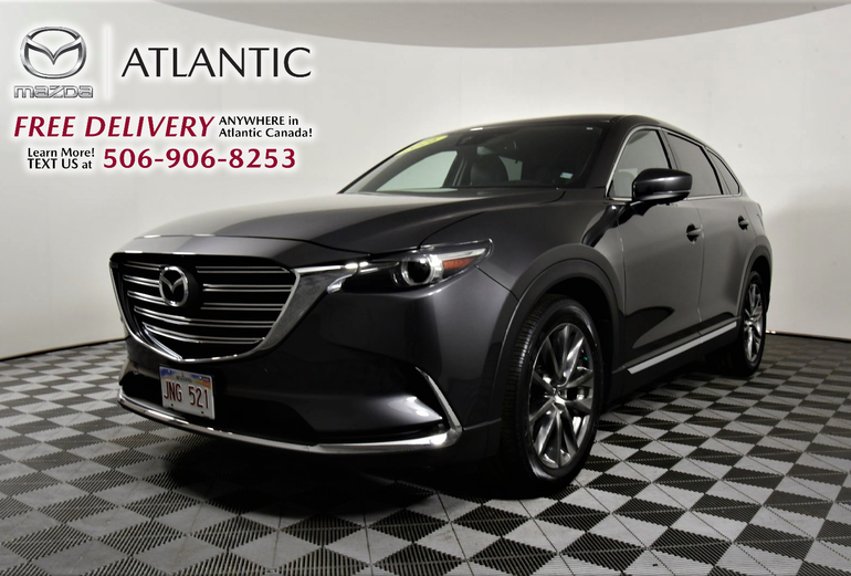 2016 Mazda CX-9 GT Factory Warranty Leather Sirius/XM Sunroof